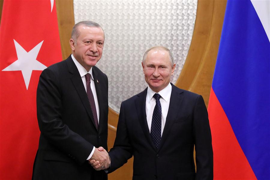 Russia, Turkey, Iran pledge to enhance joint work on Syrian peace process
