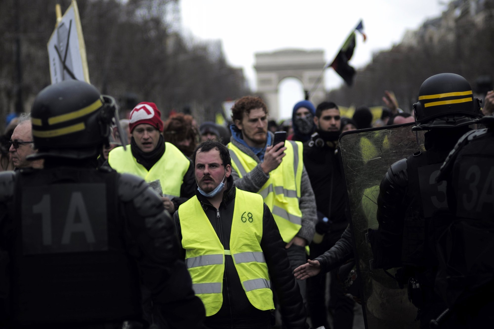 Over 8,000 arrested in wake of violent 'Yellow Vest' demonstrations