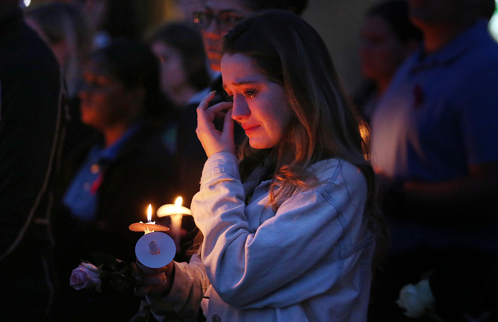 One year on, Florida school shooting remains sore spot