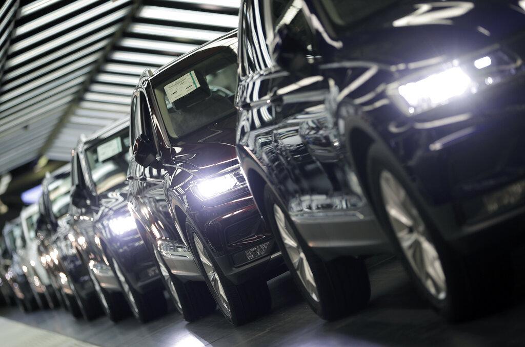 European car sales slide in January