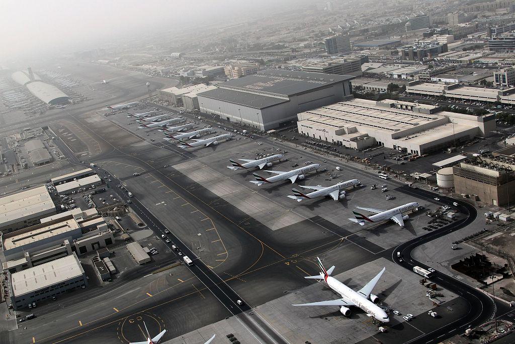 Dubai airport briefly halts flights over drone sighting
