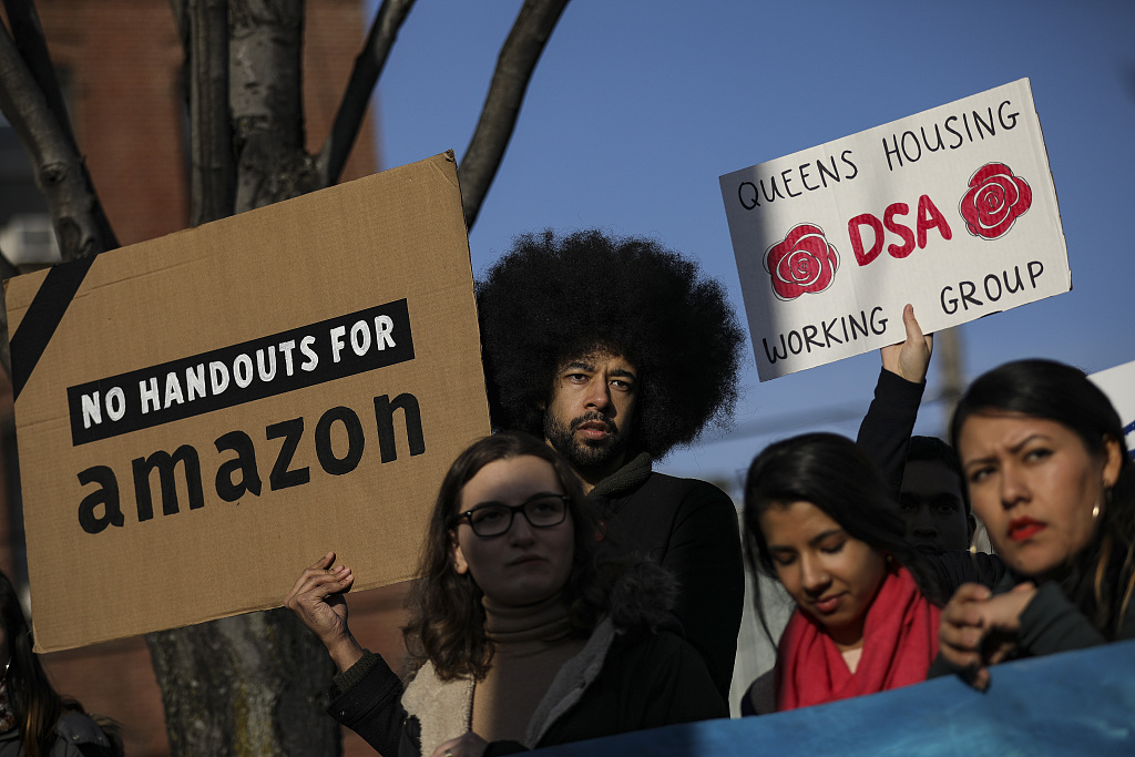 Amazon cancels plan for HQ2 in New York, some local politicians blamed