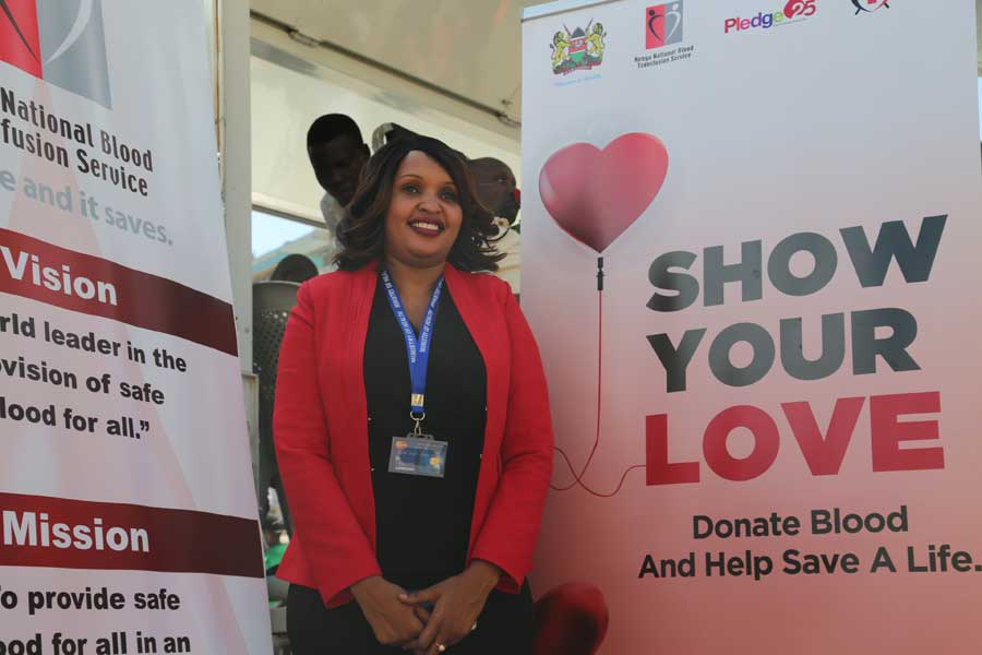 Kenyans donate blood to show love on Valentine's Day