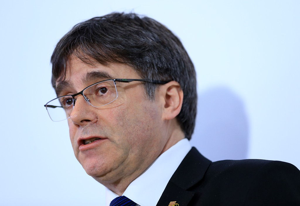 EU parliament bans Catalan independence leader's event