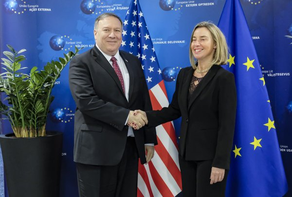 Pompeo visits Iceland as US-EU rift on Iran grows