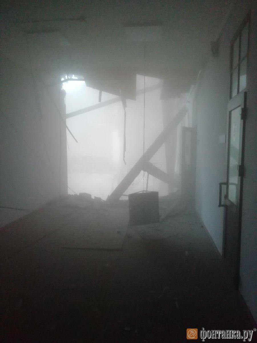 University building in Russia's St. Petersburg collapses: media