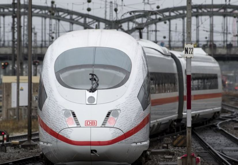 Pistol found in bullet train triggers evacuation of 700 people on board in west Germany