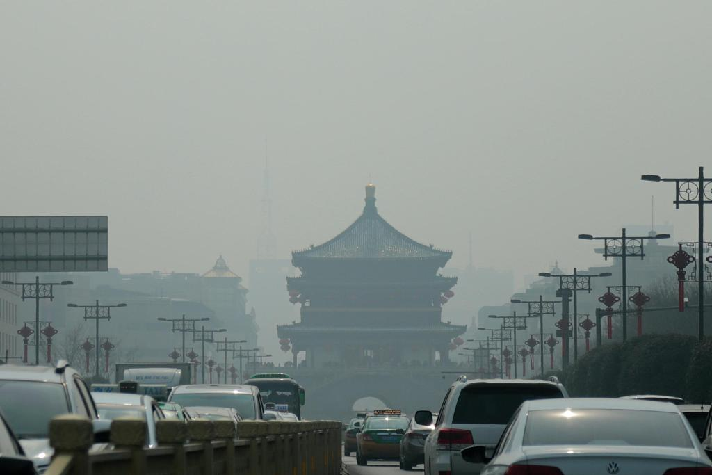 January air quality worsens in major Chinese cities