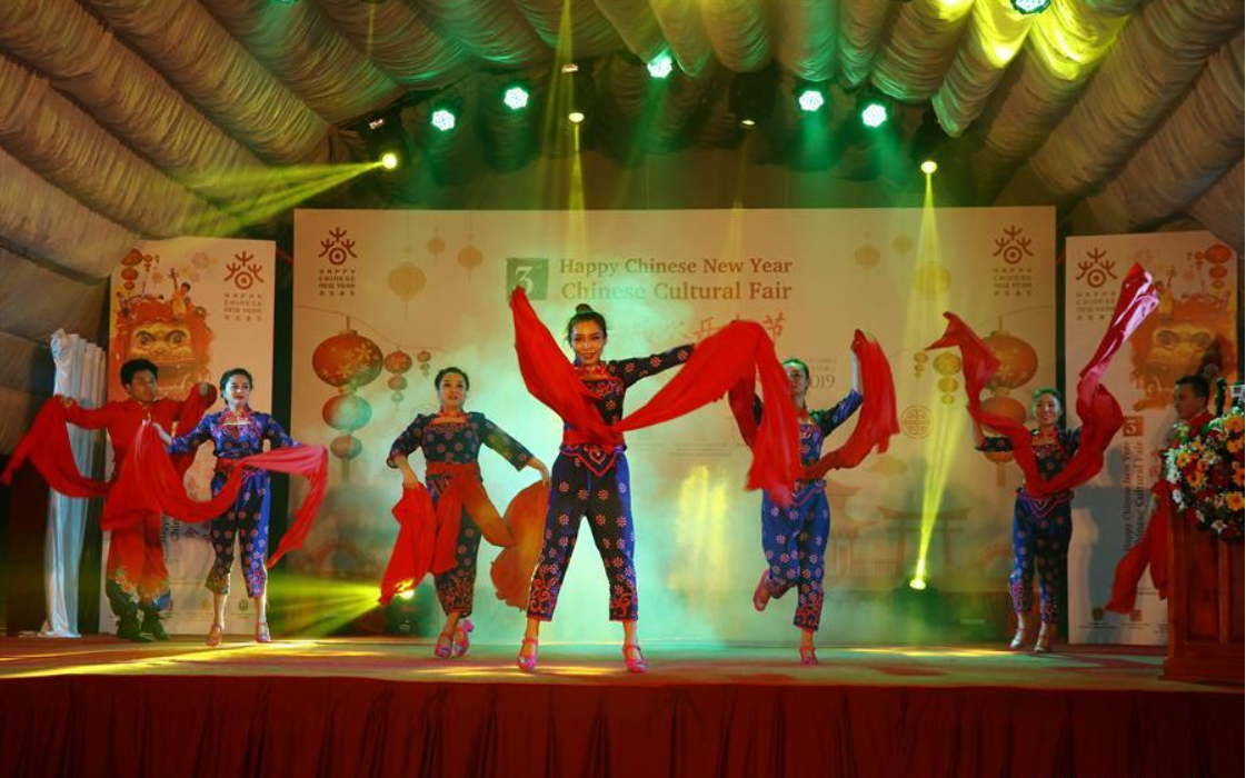 Chinese New Year cultural exhibition kicks off in Sri Lanka's capital