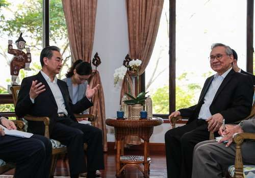 China, Thailand hold strategic consultations