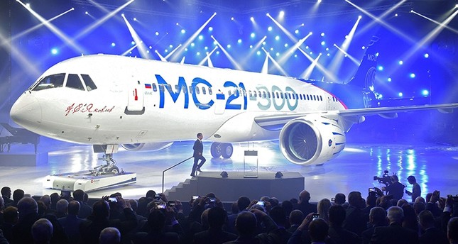 US sanctions force Russia to delay MC-21 plane, Rostec CEO says