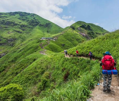 Guizhou to build 6,000-km forest trails