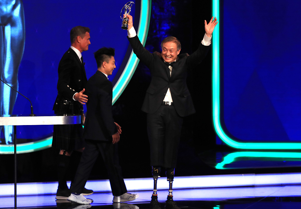 China's Xia Boyu and Novak Djokovic among winners at Laureus World Sports Awards