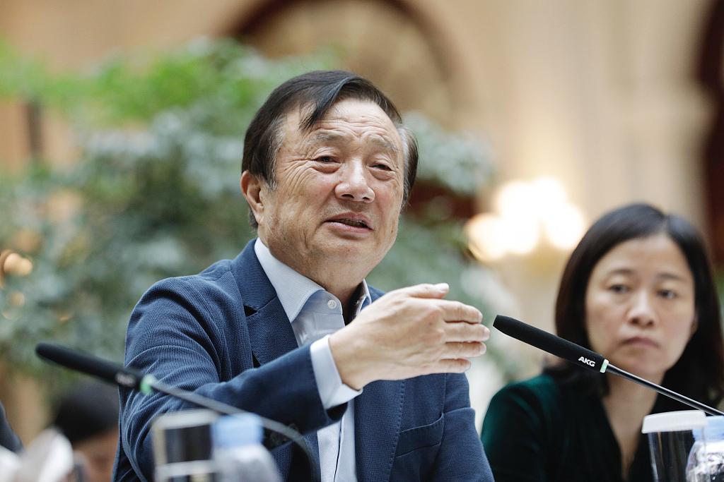 Huawei founder Ren Zhengfei: no way the US can crush us