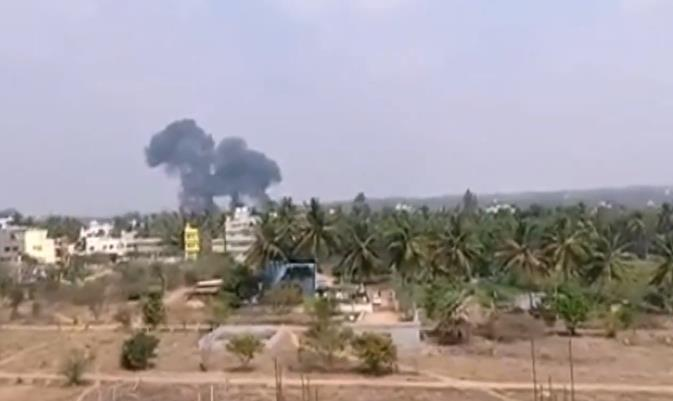 2 aircraft crash in south India during aerobatics show rehearsal
