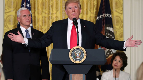 Trump moving closer to goal of creating a Space Force