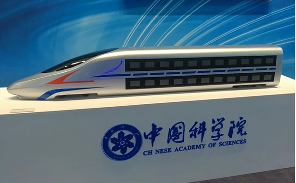 New double-decker bullet train expected to reach speed of 350 km/h