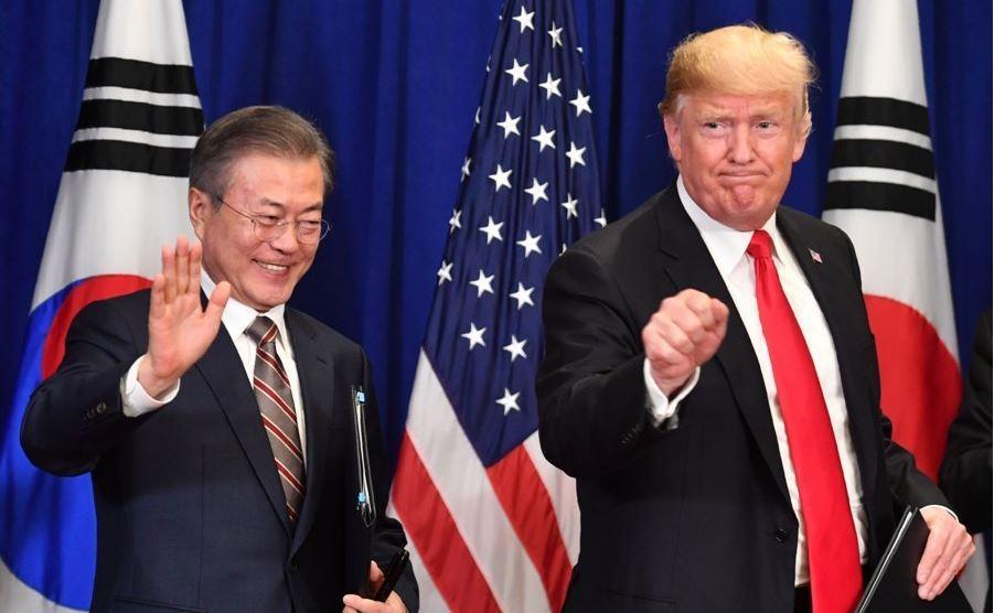 Moon, Trump hold phone talks over 2nd DPRK-US summit