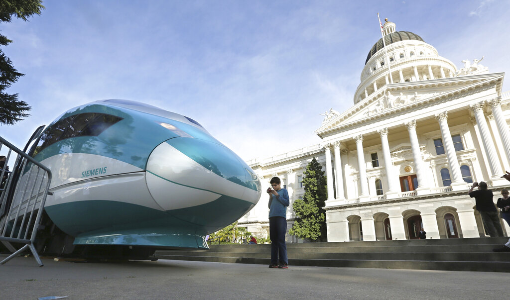 Trump administration wants California to pay back billions for bullet train