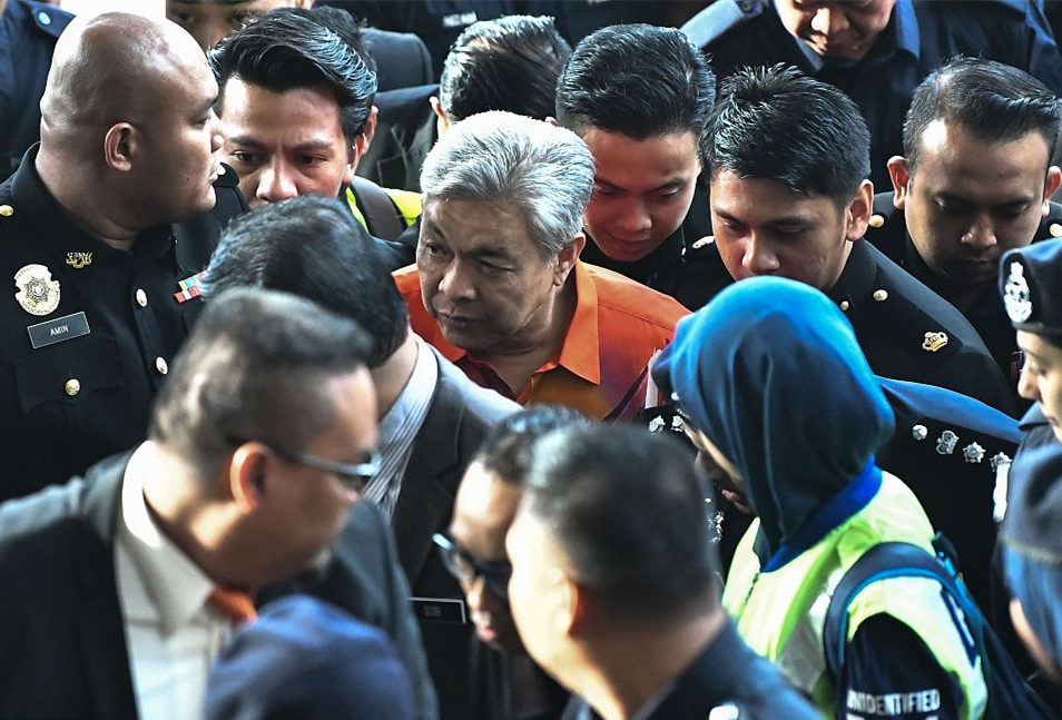 Former Malaysian deputy PM slapped with additional charge over criminal breach of trust