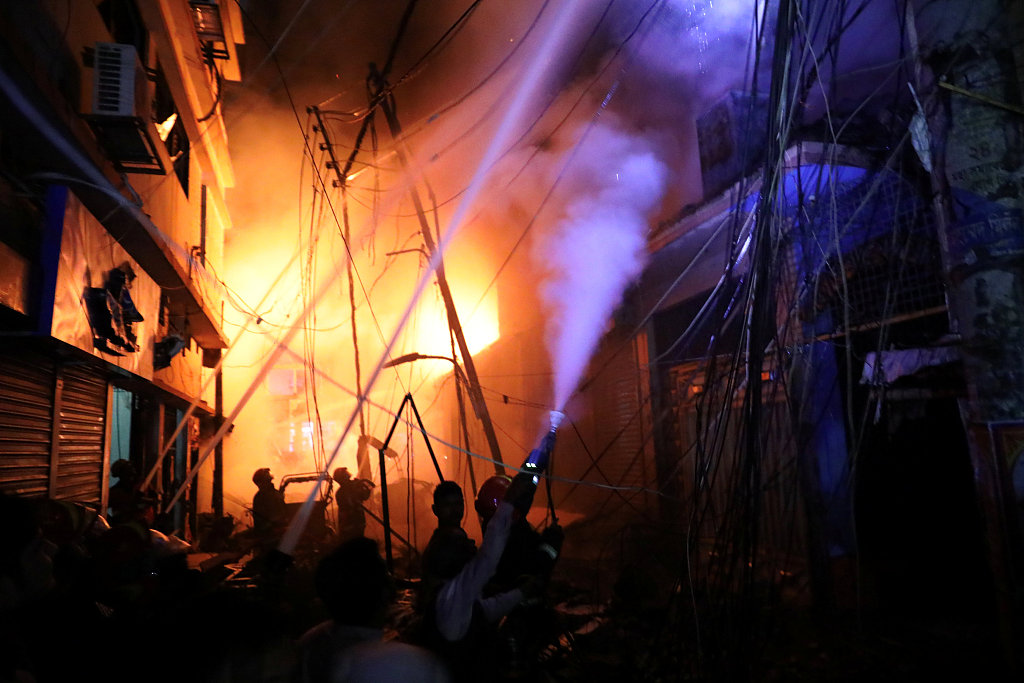 Fire kills 56 in Bangladesh capital: official