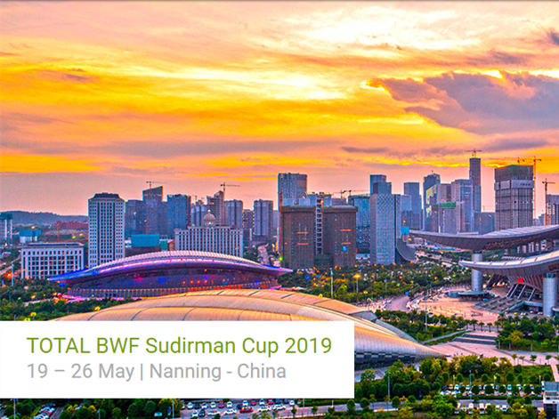 32 teams to participate in 2019 Sudirman Cup Badminton Tourny
