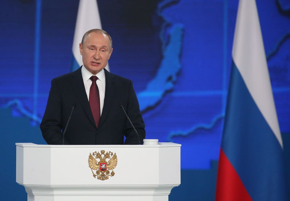 Belt and Road highlighted in Putin's State-of-Nation Address