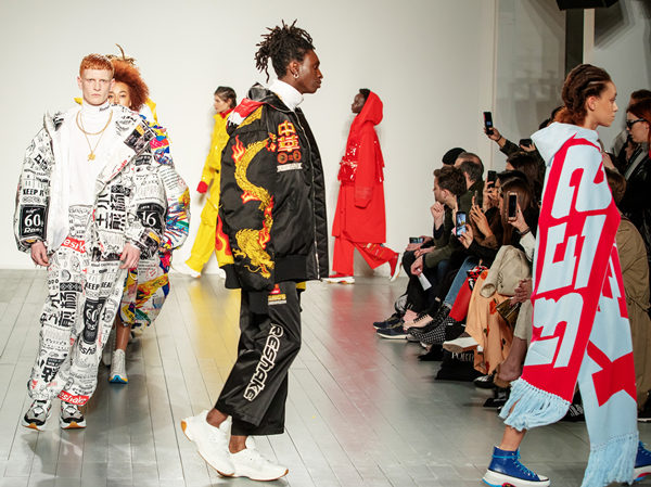 London Fashion Week gets view of Chinese lux brand Reshake