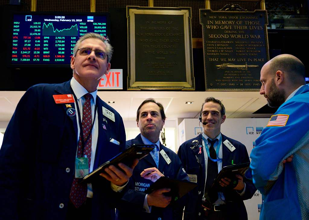 US stocks open lower on weak economic data