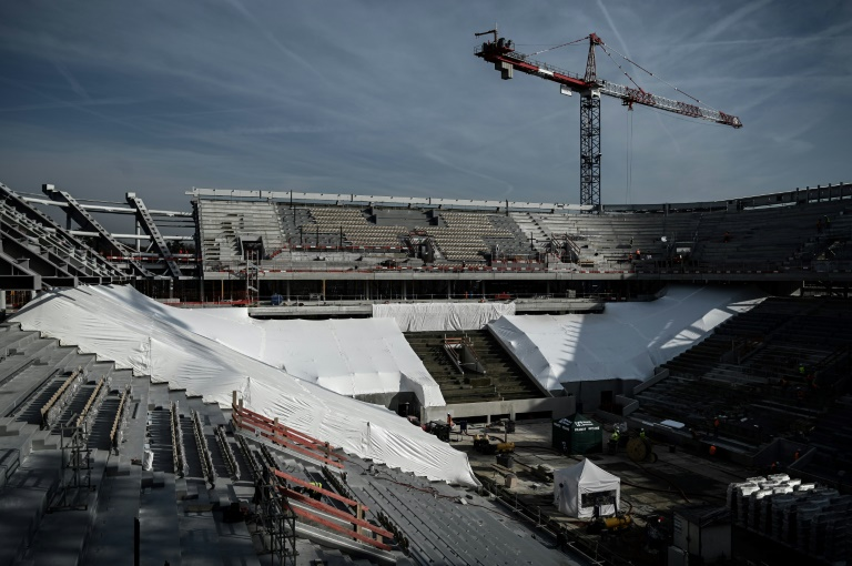 Roland Garros renovation entering 'money time' before French Open