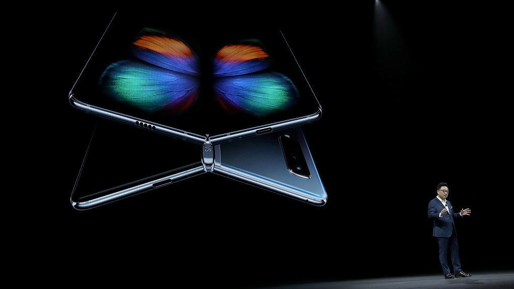 Samsung announces folding phone with 5G capabilities at nearly $2,000