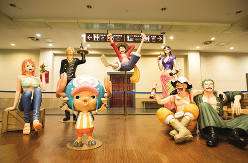 Exhibition of world famous Japanese manga 'One Piece' makes huge splash in China