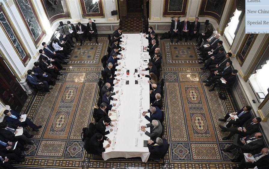 China, US kick off new round of high-level trade talks in Washington