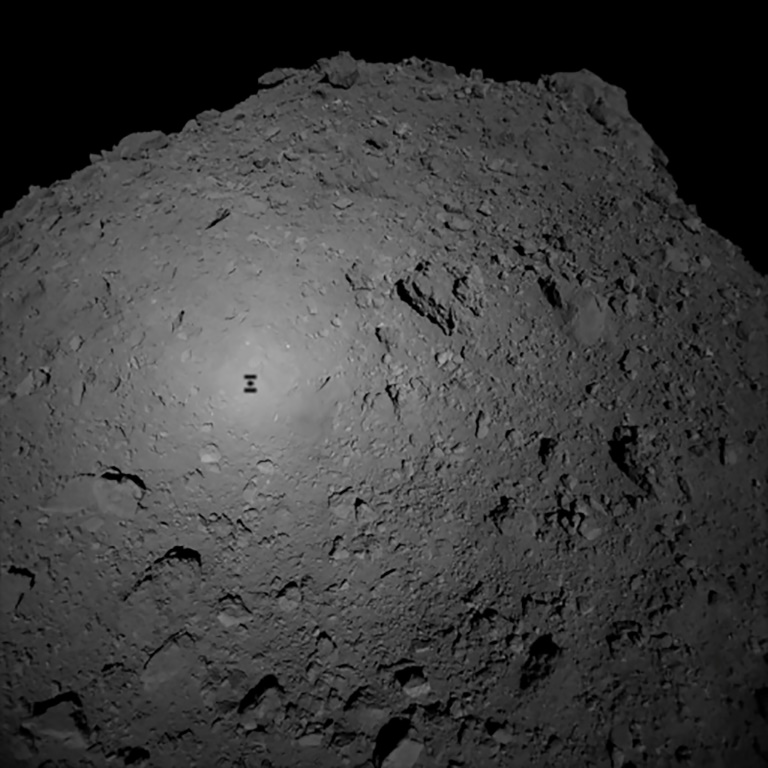 Touchdown: Japan probe Hayabusa2 lands on distant asteroid