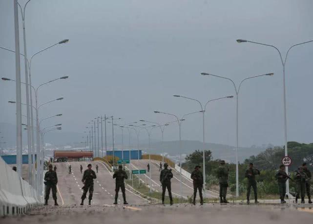 Venezuelan gov't orders partial closure of border with Colombia