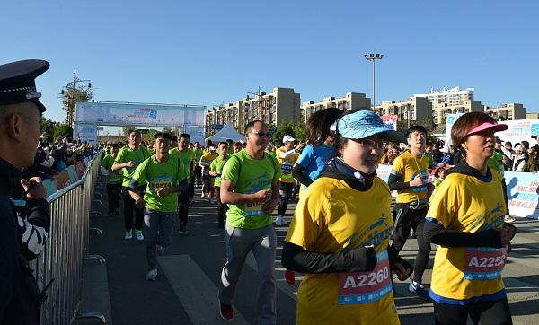 China's Kunming to organize marathon run in sea of pear flowers
