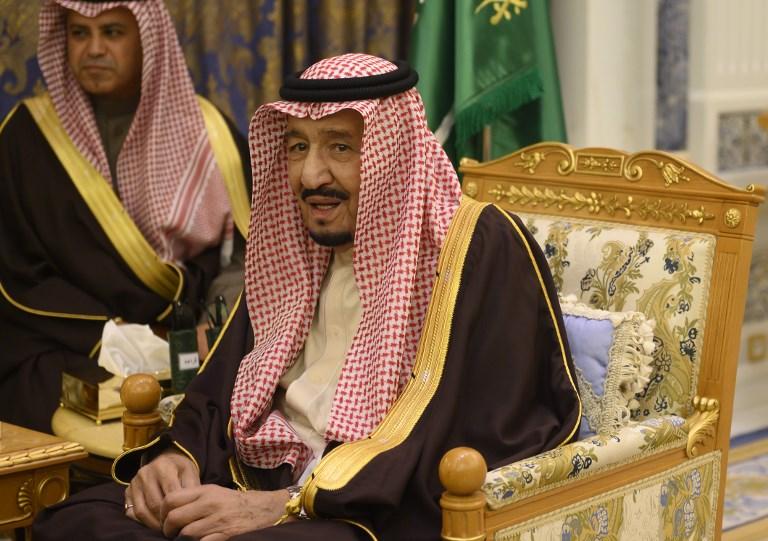 Saudi king leaves for Egypt for EU-Arab League Summit
