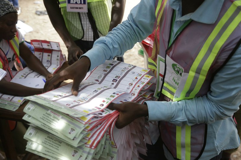 Counting starts in Nigeria's delayed poll, after explosions