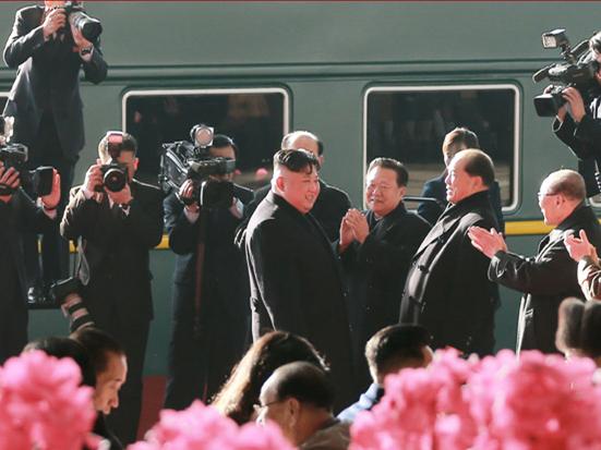 DPRK leader Kim Jong Un leaves Pyongyang for Hanoi to meet Trump