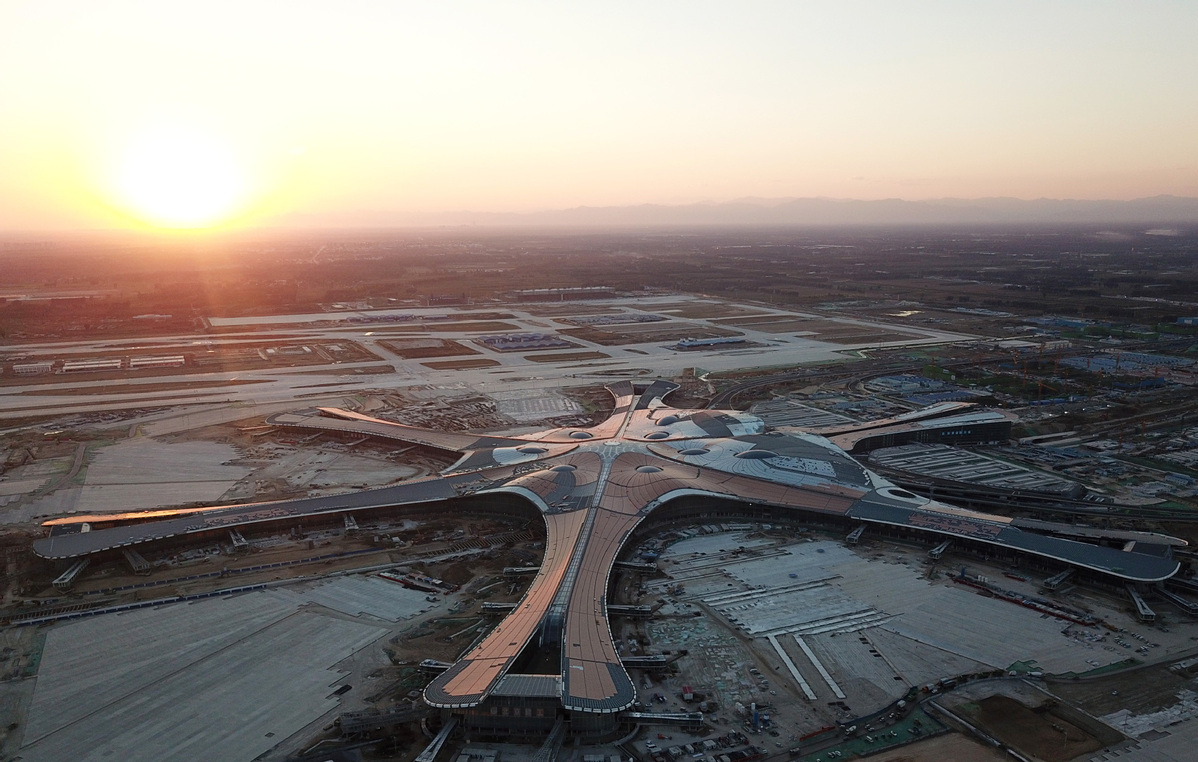 Beijing Daxing International Airport completes flight checks