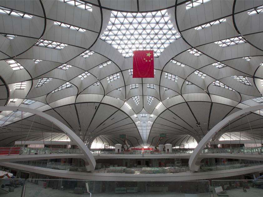Flight inspections at new Beijing airport completed 19 days early