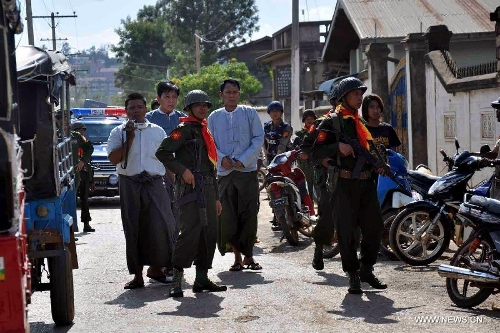 Myanmar ethnic group wants greater role from China in peace process in the country