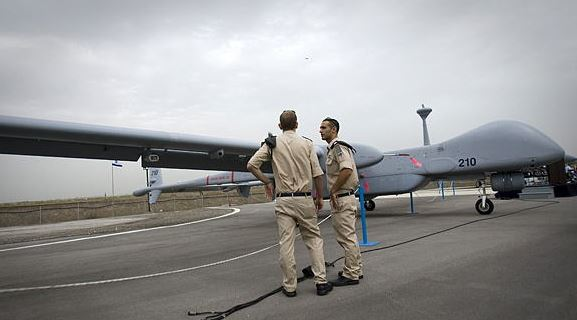 Israel sells India 50 military drones in 500-mln-USD deal