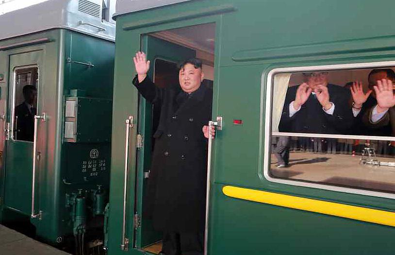 North Korean leader Kim Jong-un's train predicted to arrive in Beijing on Sunday