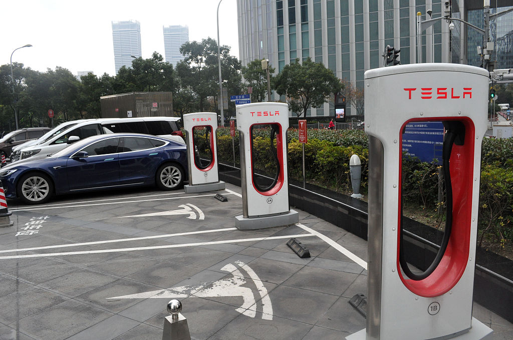 China sees fast expansion of NEVs charging infrastructure