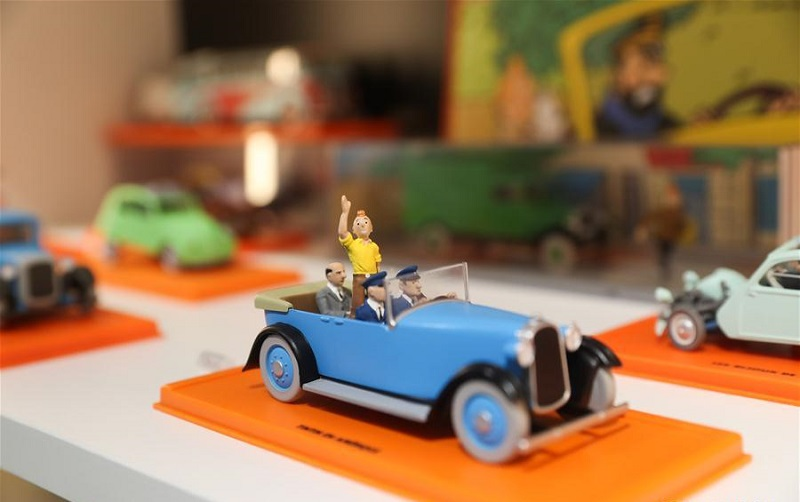 Belgian iconic comic figure Tintin opens first shop in China