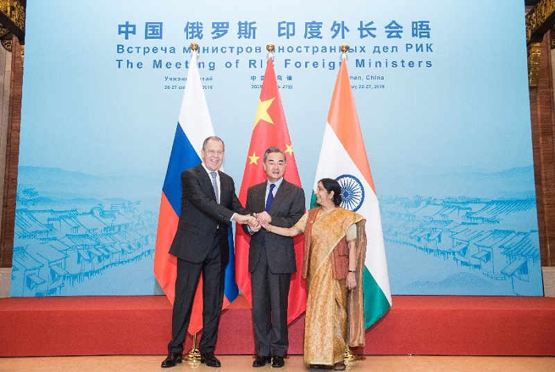 China, Russia and India to strengthen cooperation