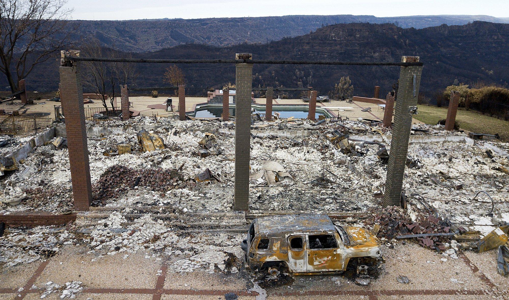 PG&E: Company equipment 'probable' cause of California fire