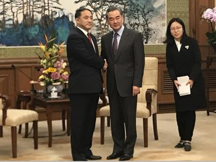Chinese state councilor meets DPRK vice FM