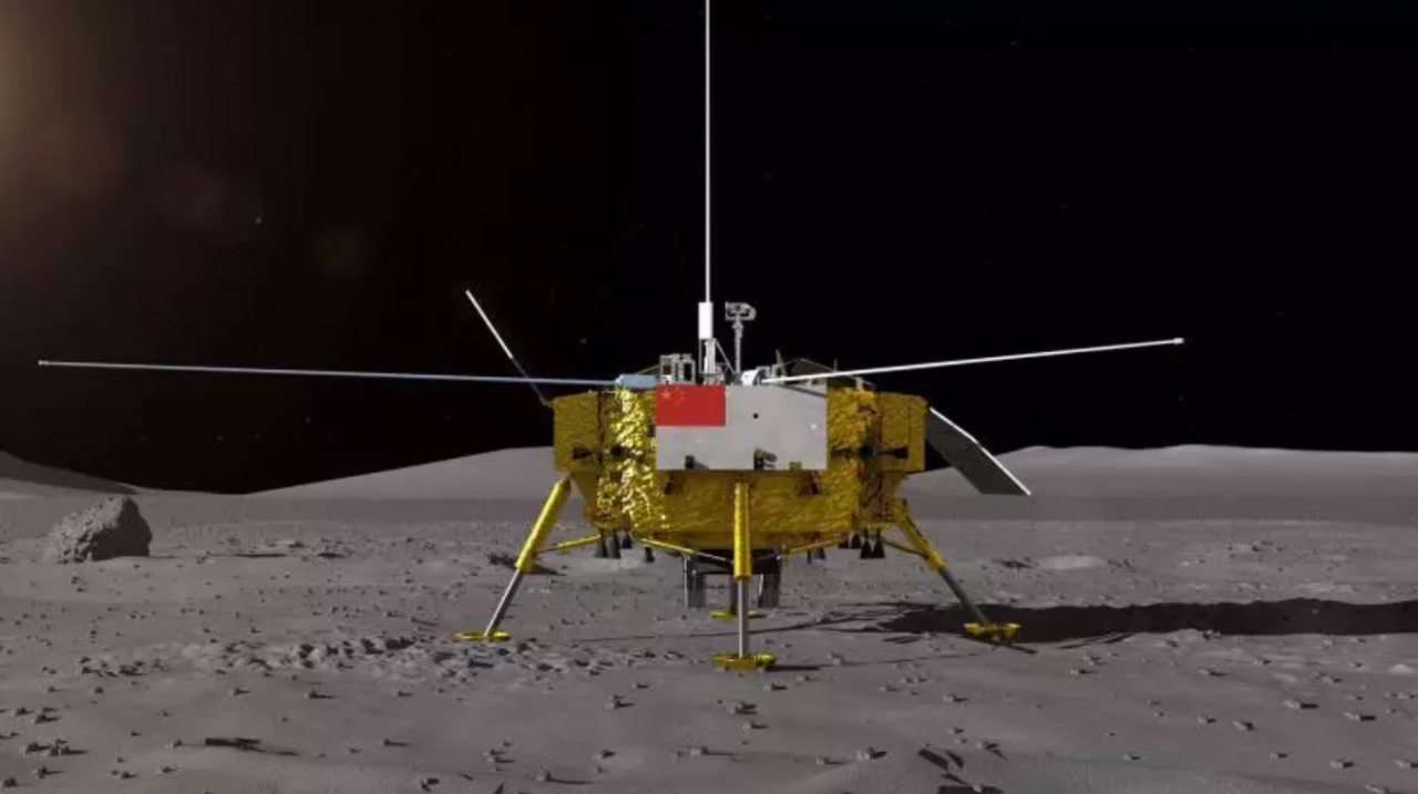 Chang'e-4 probe switches back to working mode
